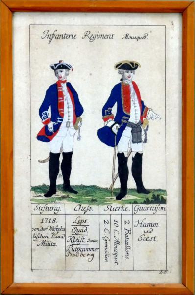 Infanterie Regiment Mousquetier-Blatt 26
