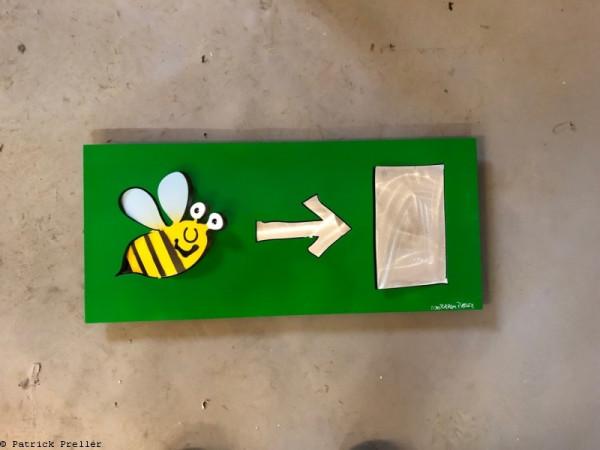 Notausgang für Bienen