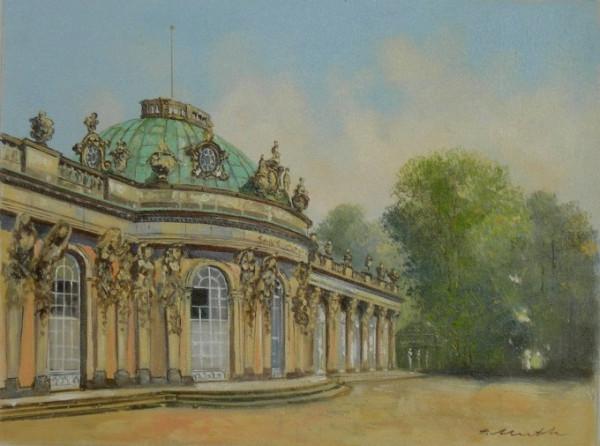 Potsdam - Schloß Sanssouci
