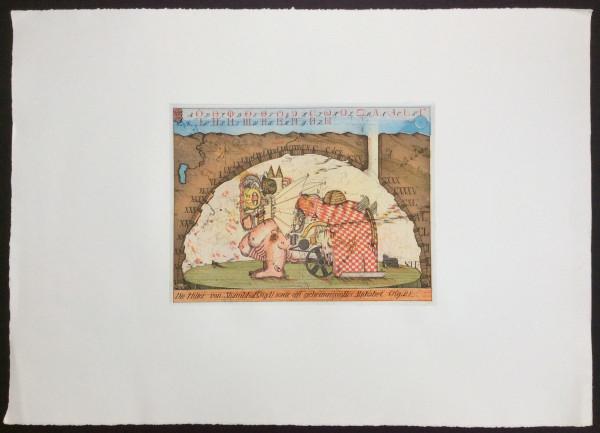 Die Hütter von Shambhal sowie ein geheimnisvolles Alphabet Loses Blatt