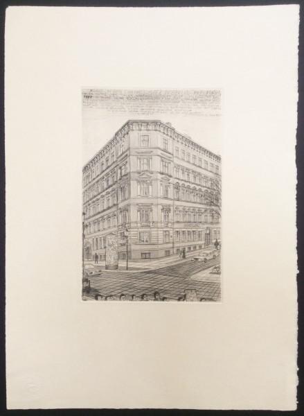 Chamissoplatz, Eckladenwerkstatt von Kurt Mühlenhaupt
