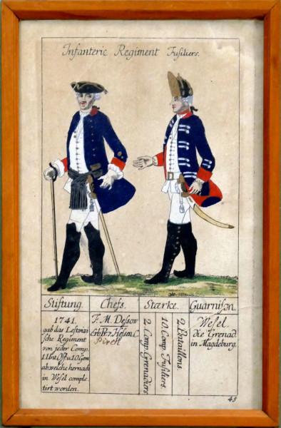 Infanterie Regiment Fusiliers-Blatt 45