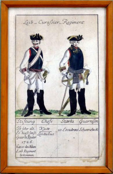 Leib-Curassier-Regiment-Blatt 72