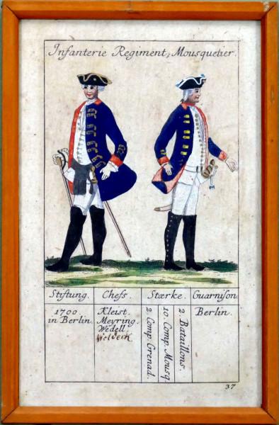 Infanterie Regiment Mousquetier-Blatt 37