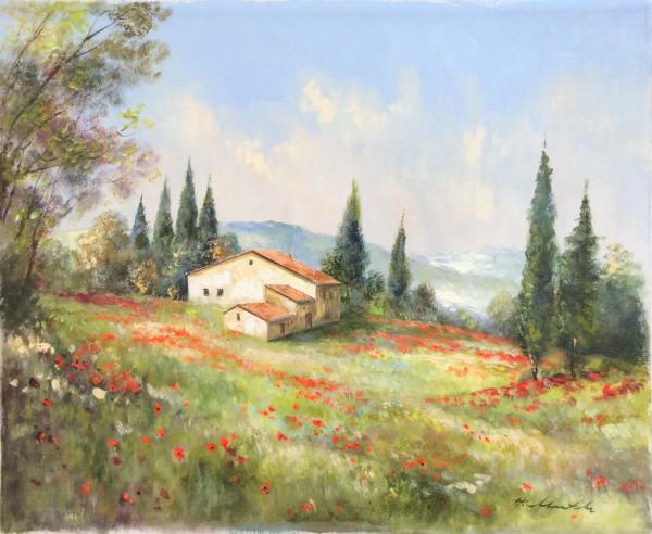 Toskana, Bauernhof bei San Quirico d´Orcia