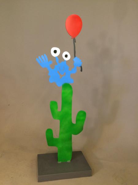 auf dem Kaktus