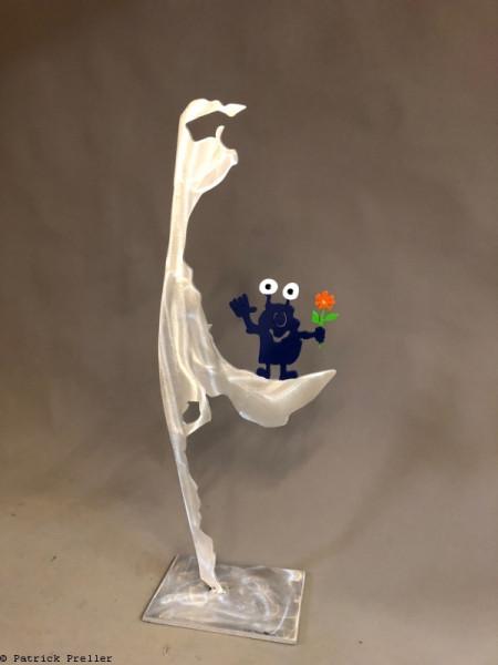 Monster mit Blume auf Sylt