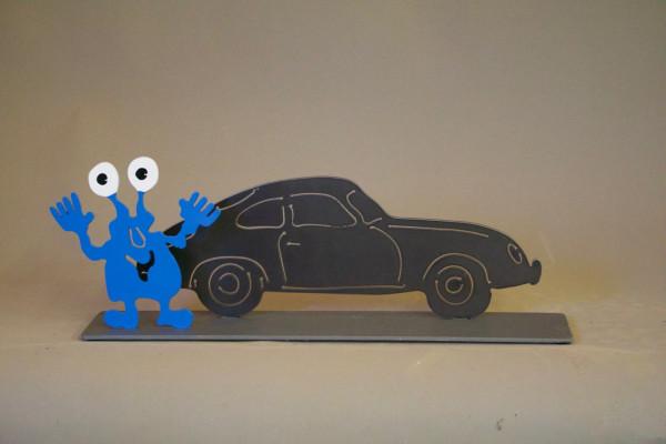 Porsche 356 A und Monster