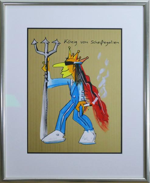 König von Scheissegalien (gold)