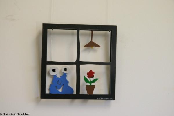 "Monster Windows ""Fenster"" (Wandobjekt)"
