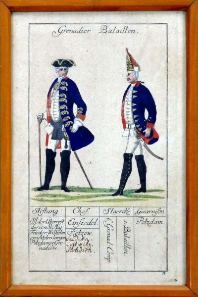 Grenadier Bataillon-Blatt 3