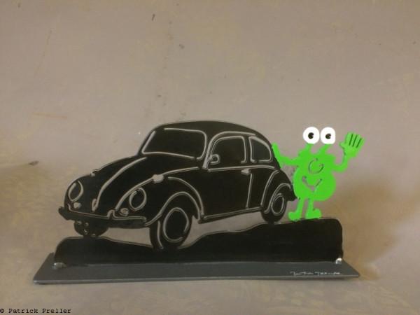 Monster und VW-Käfer