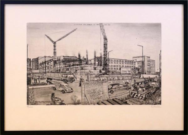 Bau der Bundesdruckerei