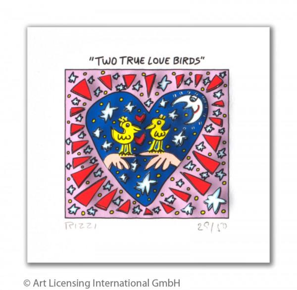 TWO TRUE LOVE BIRDS