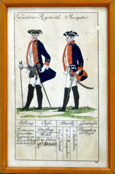 Infanterie Regiment Mousquetier-Blatt 28