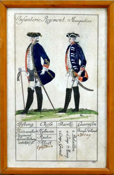 Infanterie Regiment Mousquetier-Blatt 30