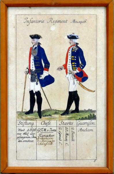 Infanterie Regiment Mousquetier-Blatt 6