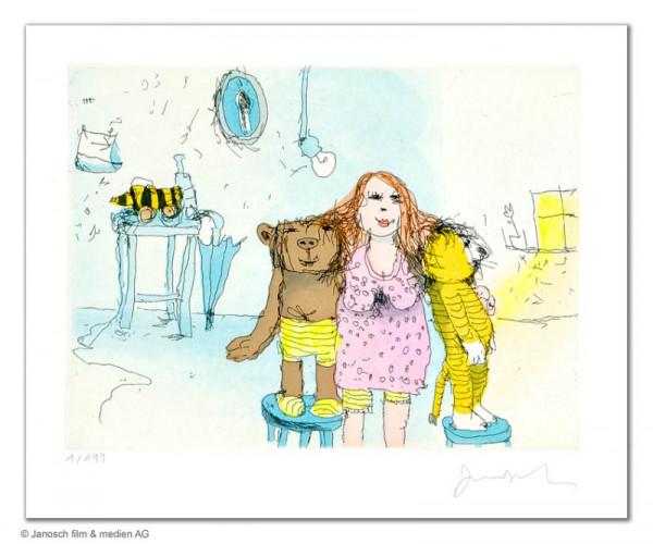 Die beste Freundin von Bär und Tiger