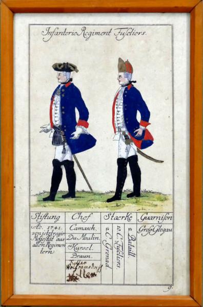 Infanterie Regiment Fusiliers-Blatt 9