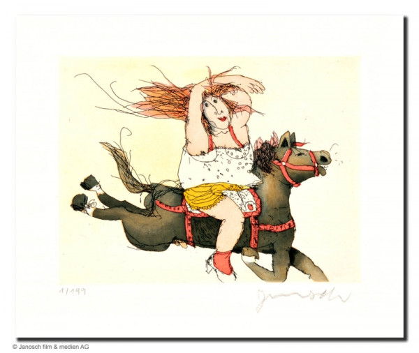 Susanne hat ein Pferd Juche