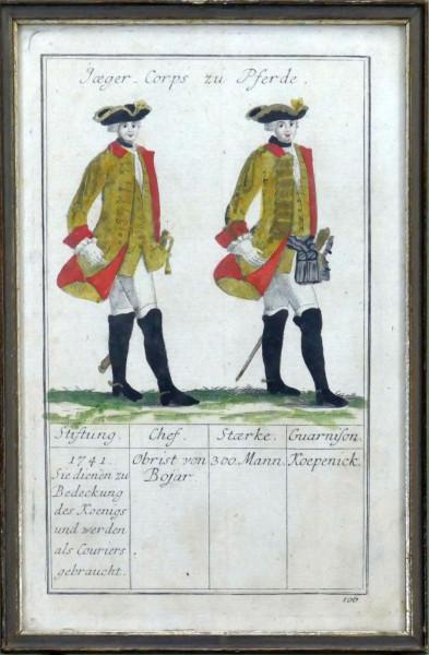 Jaeger Corps zu Pferde-Blatt 106