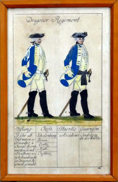 Dragoner Regiment-Blatt 86