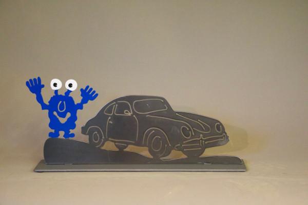 Porsche 356 Cabrio mit Monster