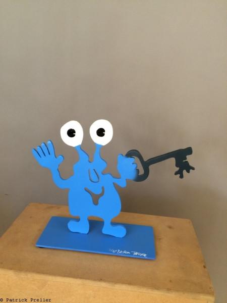 Monsterkollege mit Schlüssel