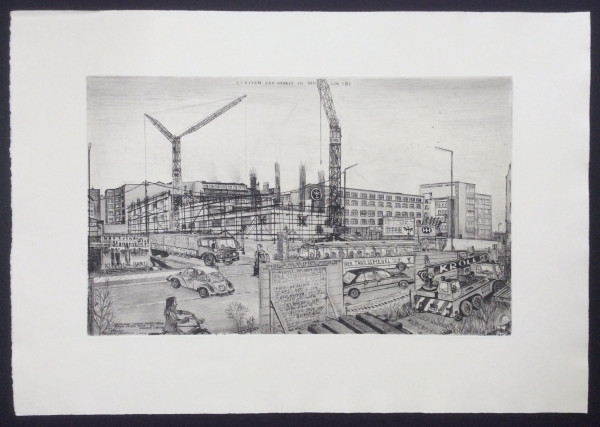 Baustelle Oranienstraße 96, späteres Umweltamt