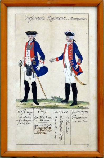 Infanterie Regiment Mousquetier-Blatt 4