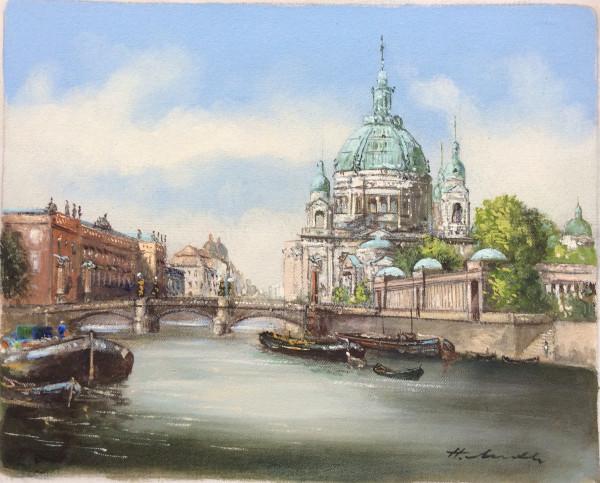 Berliner Dom mit Börse