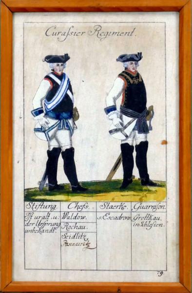 Curassier Regiment-Blatt 79