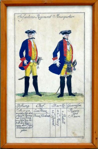 Infanterie Regiment Mousquetier-Blatt 11