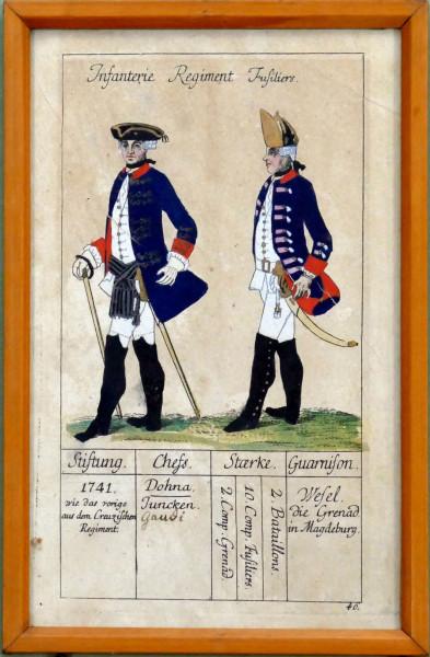 Infanterie Regiment, Fusiliers-Blatt 46