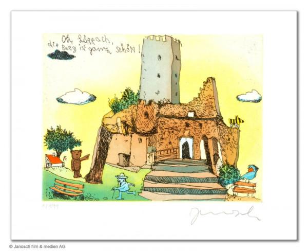 Oh Lörrach die Burg ist ganz schön