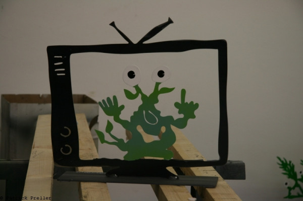 Monster TV Monster mit Ohr