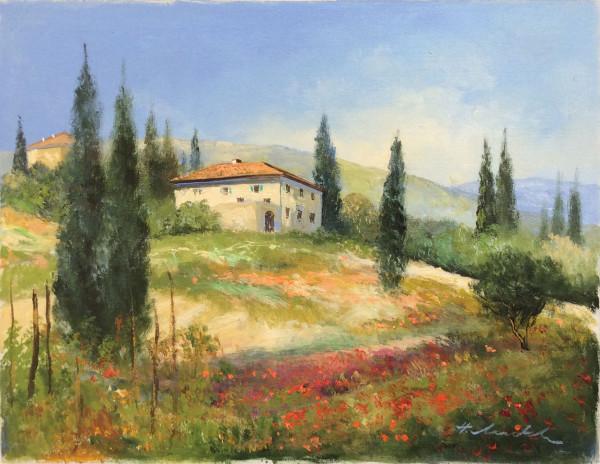 Toskana, Weingut im Chiantigebiet
