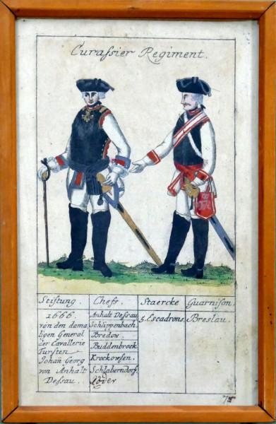 Curassier Regiment-Blatt 75
