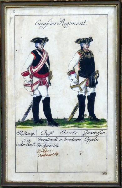 Curassier Regiment-Blatt 92