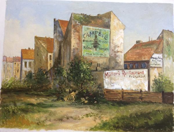 Alt-Berlin, Alte Häuser in der Wallstrasse