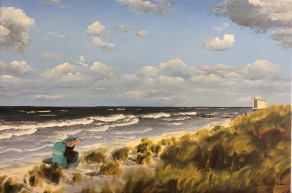 Strand mit Strandkorb 2