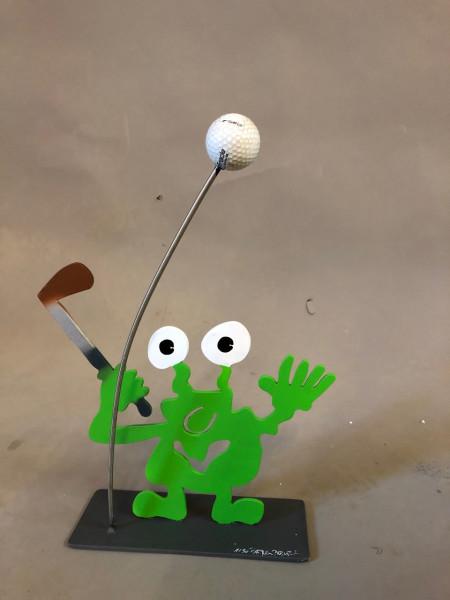 Golfmonster Abschlag