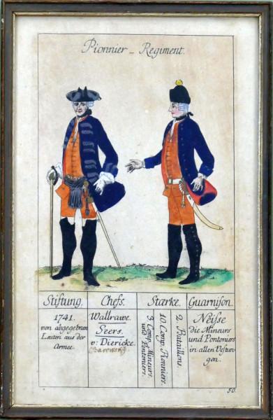 Pionnier-Regiment-Blatt 50