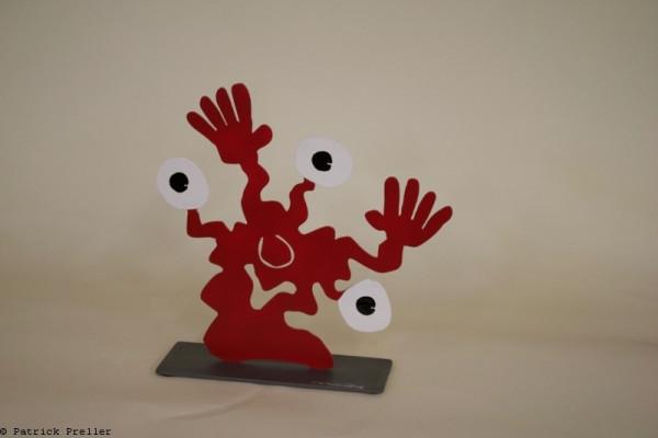 Monster Togo mit drei Augen